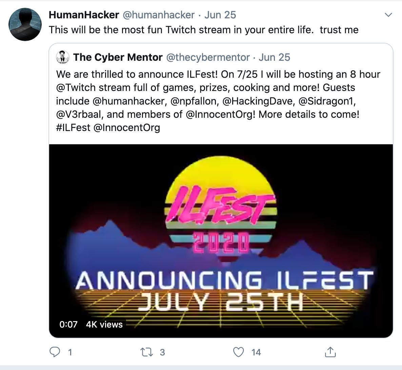 ILFest Announcement